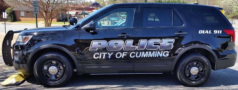 Cumming Police Department